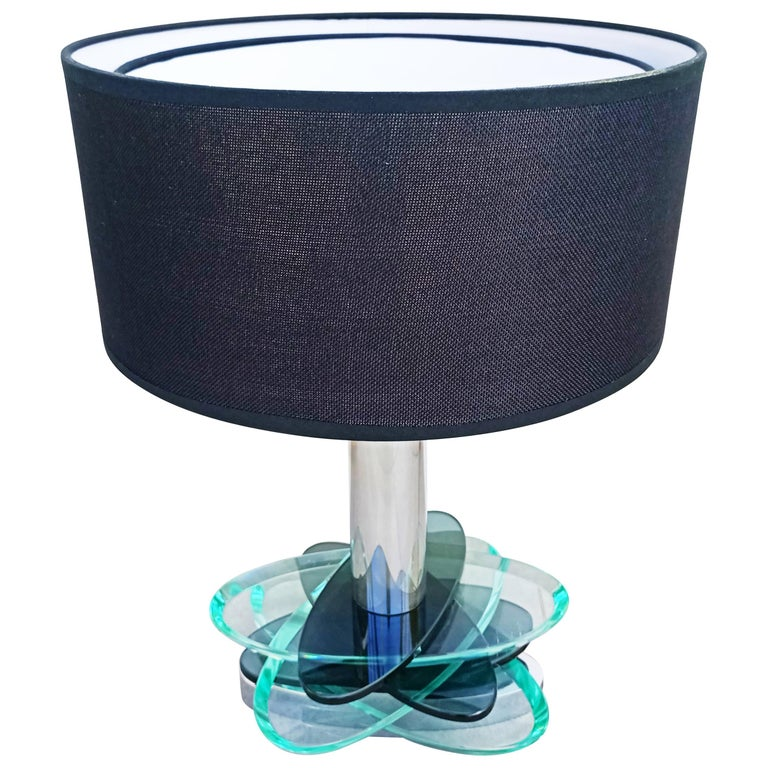 Large Fontana Arte Modulable Table Lamp, Italy, 1970s For Sale