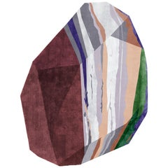 Large Fordite Rock Shaped Rug by Patricia Urquiola for CC-Tapis