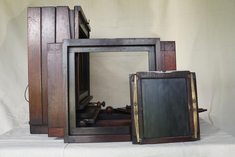 Large Format Box Camera, circa 1915 For Sale 4
