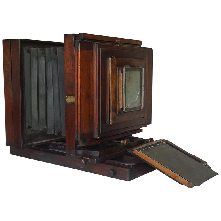 Large Format Box Camera, circa 1915 For Sale