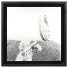 Large Framed Drawing Ethan Murrow
