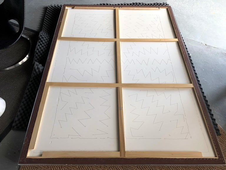 Large Framed Japanese Embroidery Dragon Tapestry For Sale 6