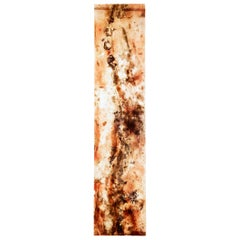 Large French 1950s Acrylic Abstract Panel