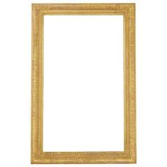 Large French 19th Century Gilt Mirror Frame