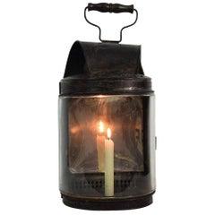 Large French 19th Century Metal Lantern