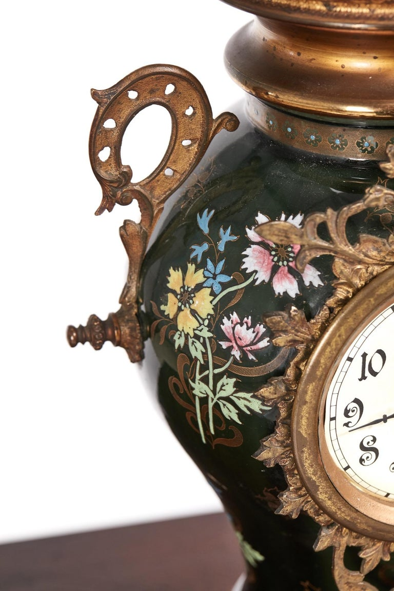 19th Century Large French Antique Victorian Mantel Clock