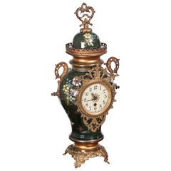 Large French Antique Victorian Mantel Clock