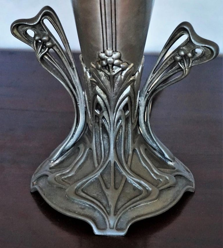 French Art Deco Vase Table Lamp, 1930s For Sale 7