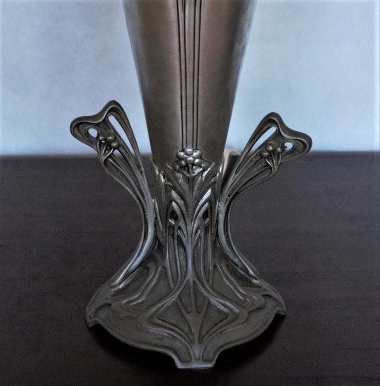 French Art Deco Vase Table Lamp, 1930s For Sale 5