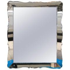 Large French Beveled Mirror