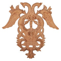 Large French Carved Wall Decoration