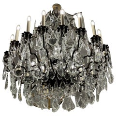 Large French Chandelier, 20th Century