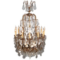 Large French Chandelier in Barock Style for a Castle or Villa