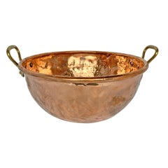 Large French Copper Confectioner's Pot