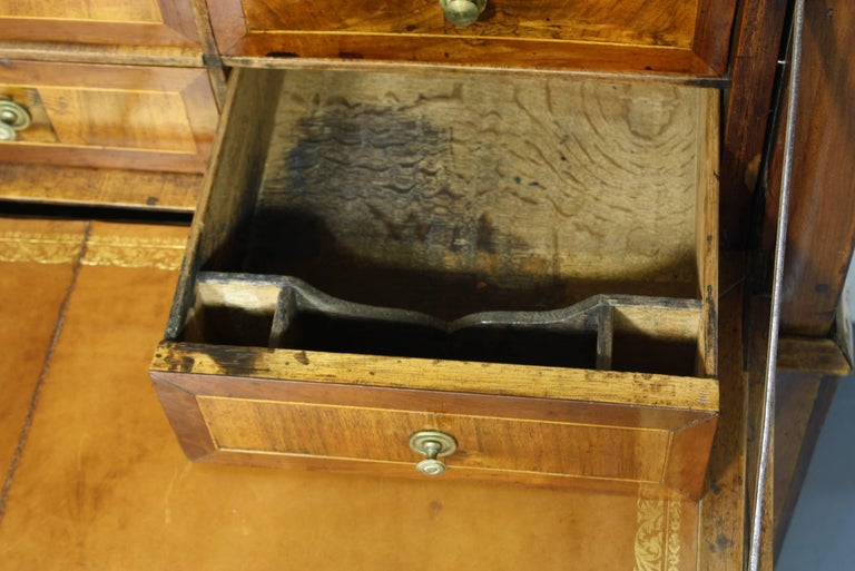 Large French Directoire Period Traveling Secretary Desk For Sale 4