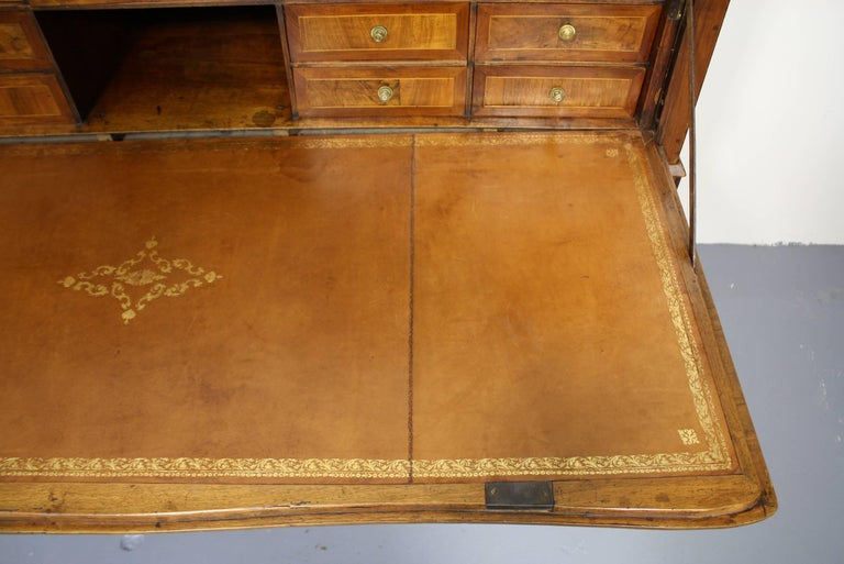 Large French Directoire Period Traveling Secretary For Sale 7