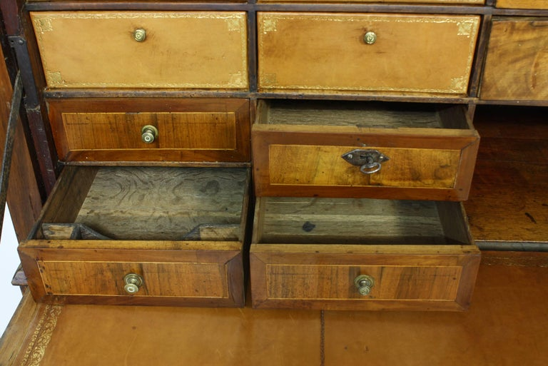 Large French Directoire Period Traveling Secretary For Sale 1
