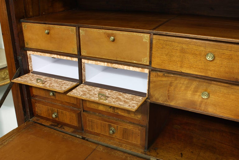 Large French Directoire Period Traveling Secretary For Sale 2