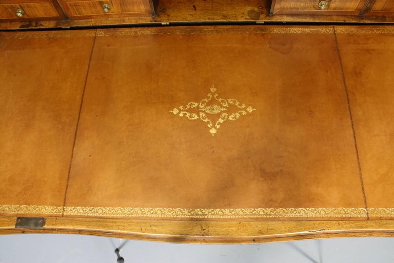 Large French Directoire Period Traveling Secretary Desk For Sale 3