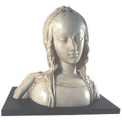 Large French Female Renaissance Bust, Austin, 1970