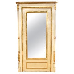 Large French Gilt Mirror