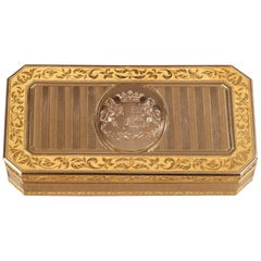 Large French Gold Snuffbox