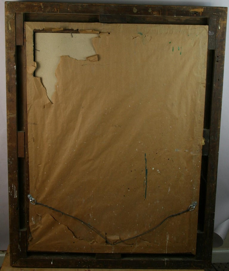 Large French Late 19th Century Wood Gilt Mirror For Sale 7