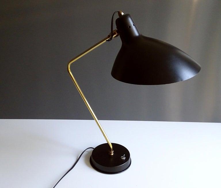 1960s Boris Lacroix Table Lamp For Sale 5