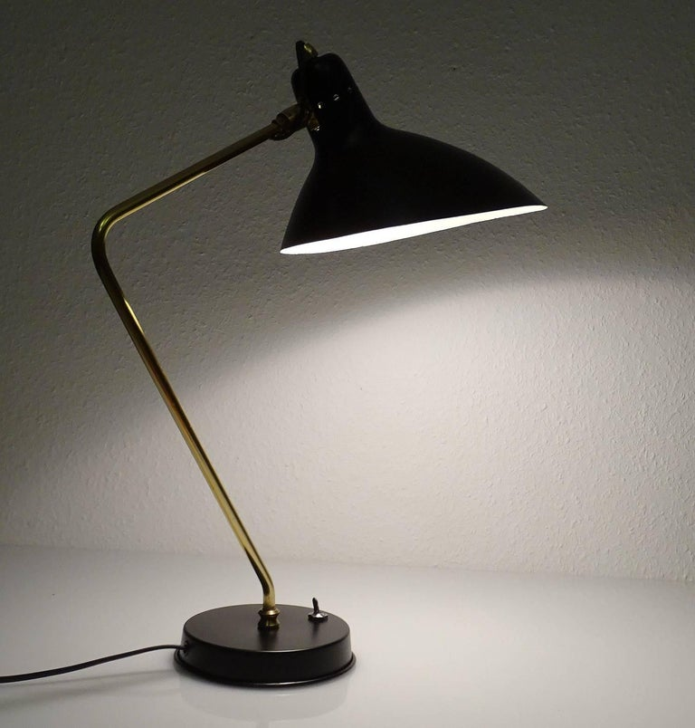 Mid-Century Modern 1960s Boris Lacroix Table Lamp For Sale