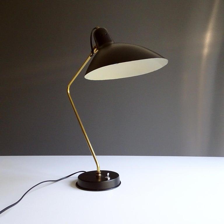 1960s Boris Lacroix Table Lamp For Sale 2