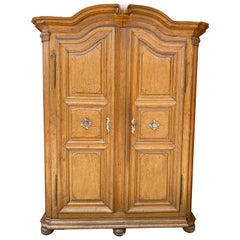 Large French Oak Armoire