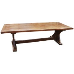 Large French Oak Kitchen Dining Farmhouse Table