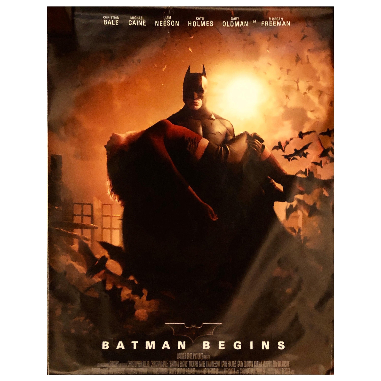 "Large French Original Movie Poster ""Batman Begins"" 2005"