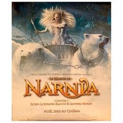 "Large French Original Movie Poster ""Le Monde De Narnia"", 2005"