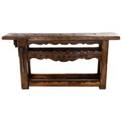 Large French Wine Rack Workbench