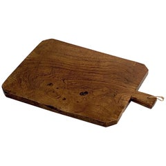 Large French Wooden Cheese or Cutting Board from the 19th Century