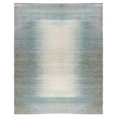 Large Contemporary Gabbeh Persian Wool Rug
