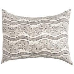 Large Garden Stripe Pillow by Antoinette Poisson, 100% Cotton