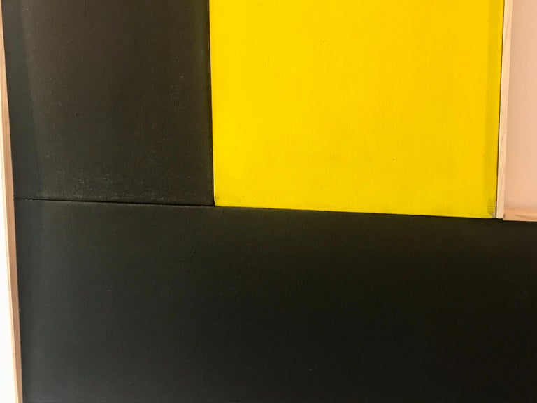 Modern Large Geometric Hard-Edge Painting, 2020 For Sale