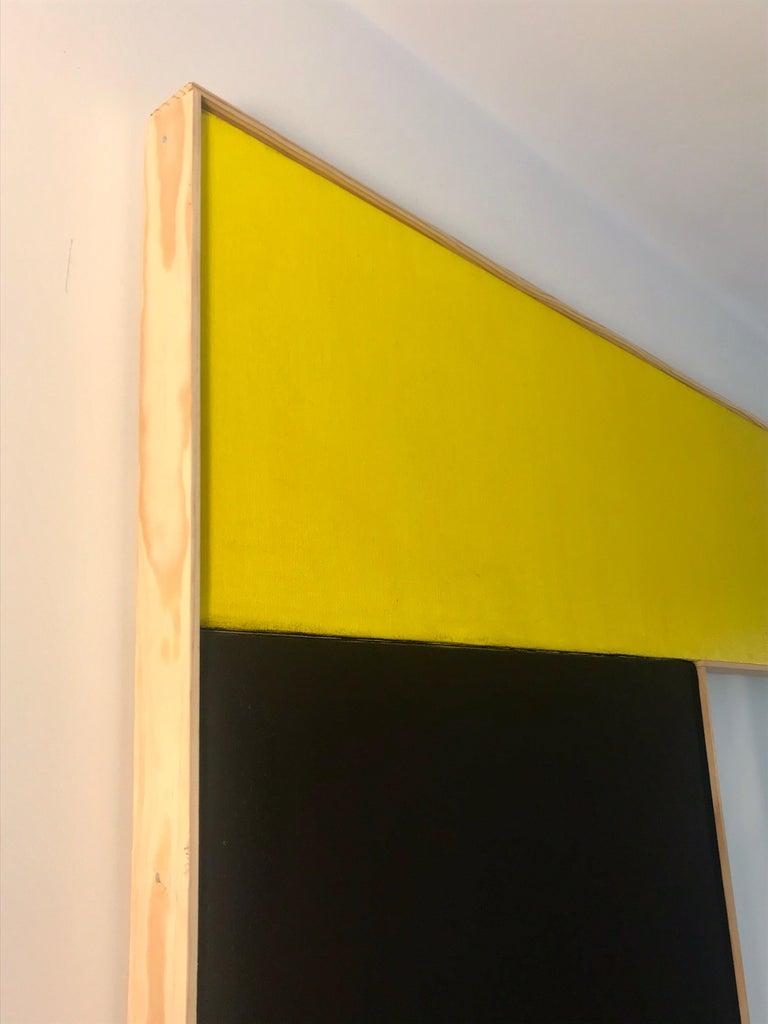 American Large Geometric Hard-Edge Painting, 2020 For Sale