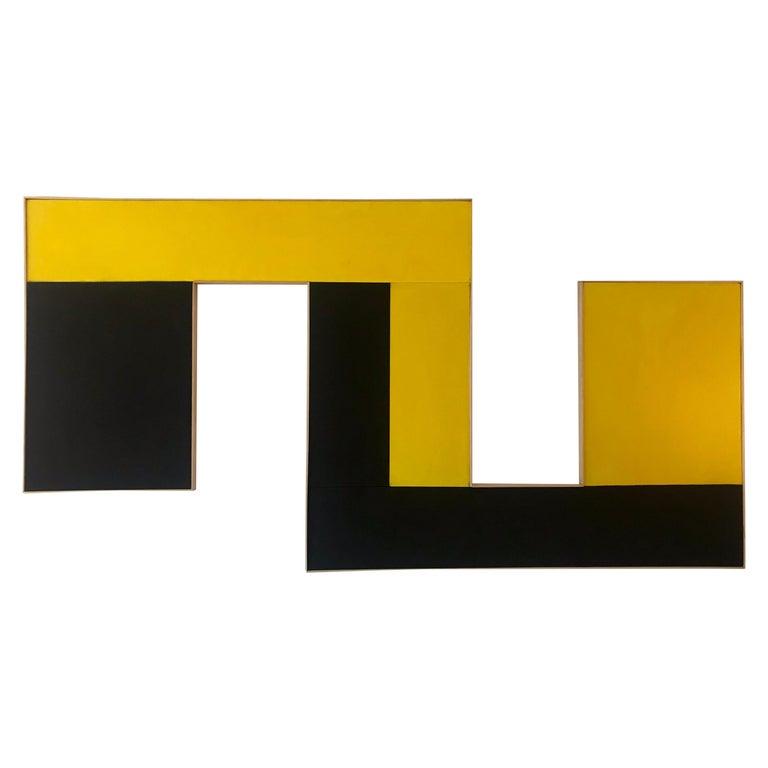 Large Geometric Hard-Edge Painting, 2020 For Sale