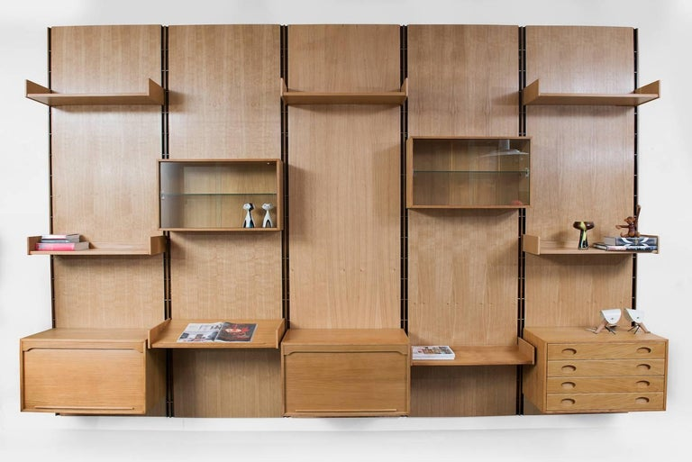 mounted putting gorgeous bookcases wall unit up bookcase walls