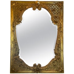 Large Gilt Gold Mirror