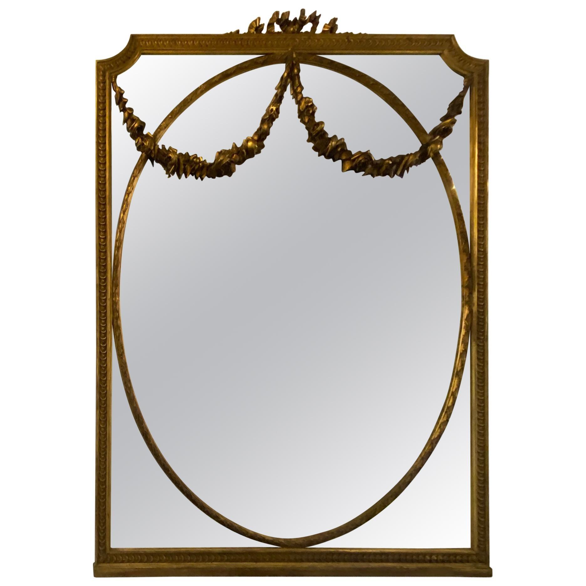 Large Gilt Gold Mirror