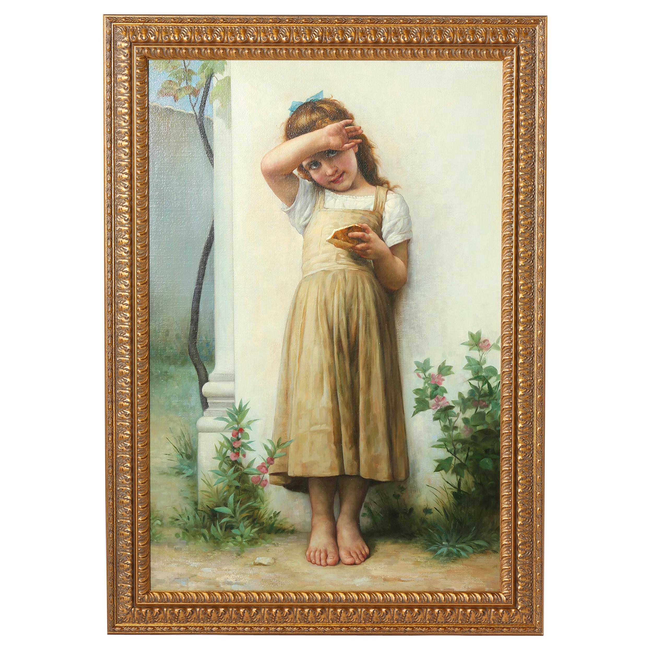 Large Giltwood Framed Oil / Canvas Painting