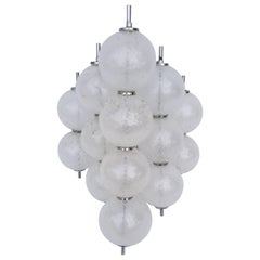 Large Glass Ball Kalmar Sconce