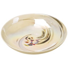 Large Glass Bowl by Dino Martens for Aureliano Toso