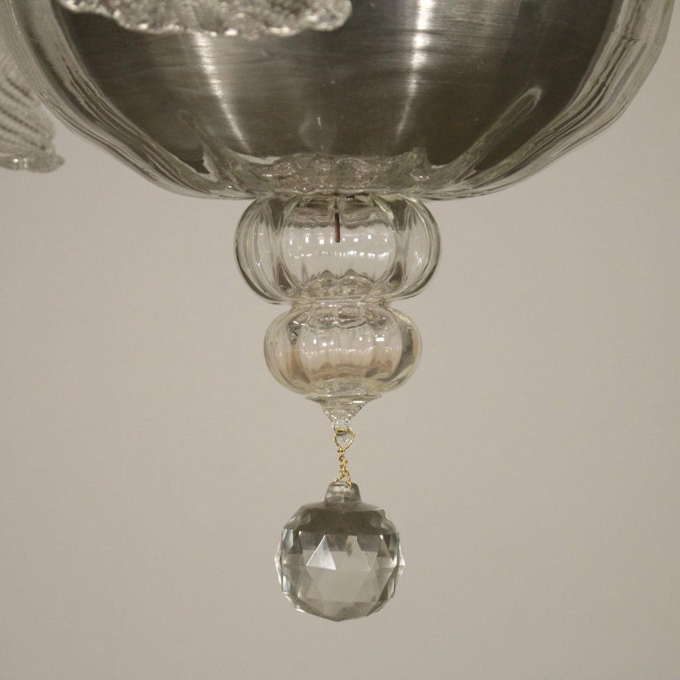 20th Century Large Glass Chandelier Murano, Italy, First Half of the 1900s For Sale