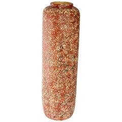 Large Glazed Ceramic Floor Vase, 1970s Hungarian Arts and Crafts Object