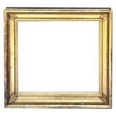 Large Gold Leafed Frame, 19th Century